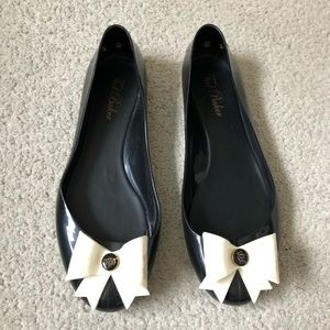 87f4ef601cafc3 Ted Baker Shoes - Ted Baker  Thuja  Jelly Bow Flat Shoe